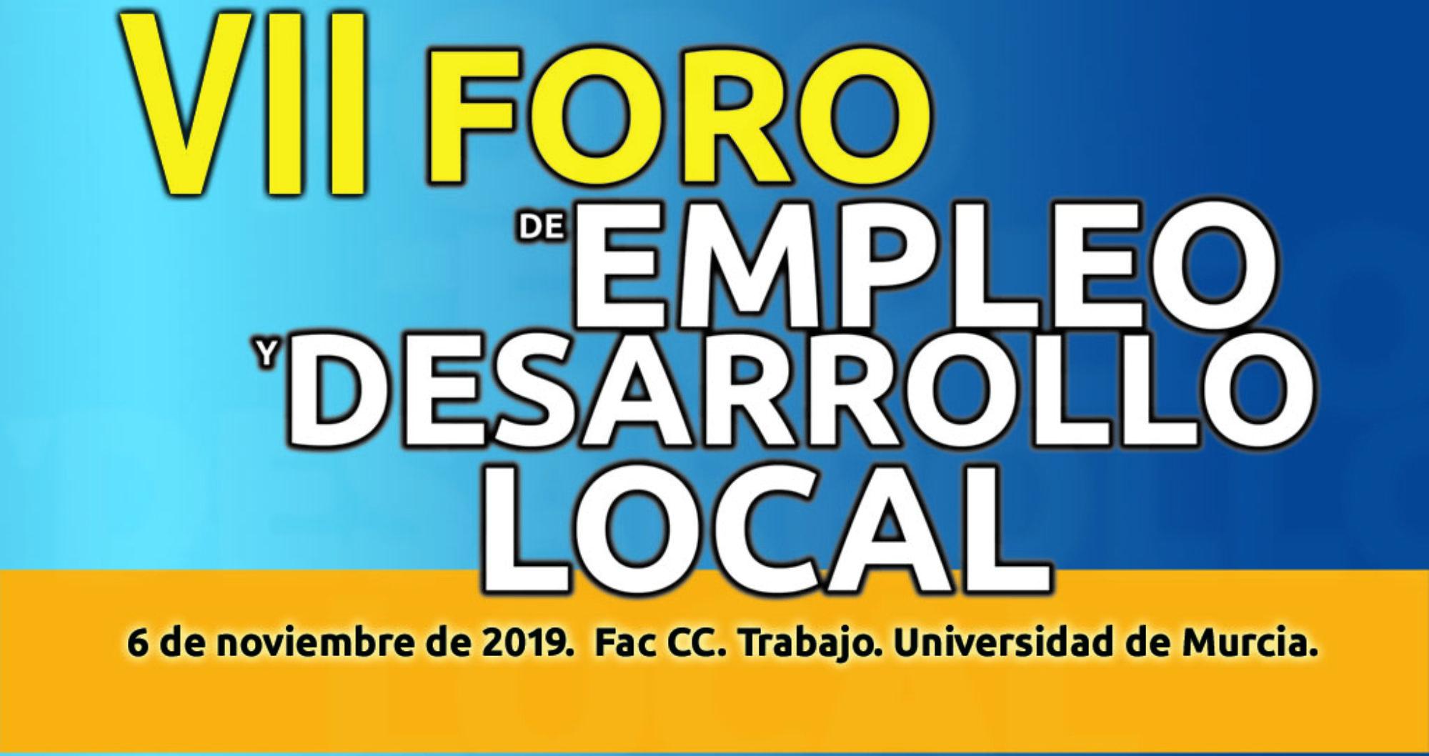 VII Foro de Empleo y Desarrollo Local